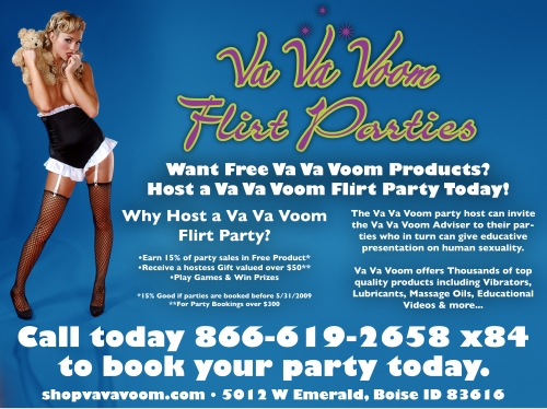 Book your Flirt Parties Today